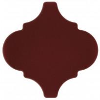 Seinälaatta Pukkila Arabesque Sangue De Boi, kiiltävä, sileä, 150x150mm
