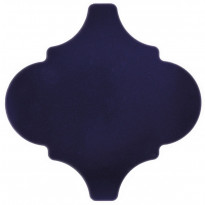 Seinälaatta Pukkila Arabesque Cobalto, kiiltävä, sileä, 150x150mm