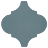 Seinälaatta Pukkila Arabesque Atlantico, kiiltävä, sileä, 150x150mm