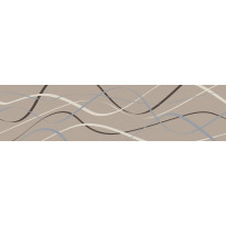 Koristelista Pukkila Laine Honganruskea, himmeä, sileä, 400x100mm