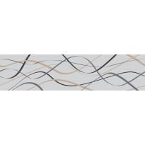 Koristelista Pukkila Laine Graniitinharmaa, himmeä, sileä, 400x100mm