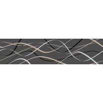 Koristelista Pukkila Laine Antrasiitinharmaa, himmeä, sileä, 400x100mm