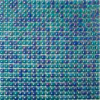 Mosaiikkilaatta Pukkila Pisara Sininen Mix, kiiltävä, sileä, 11x11mm