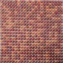 Mosaiikkilaatta Pukkila Pisara Punainen Mix, kiiltävä, sileä, 11x11mm
