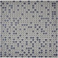 Mosaiikkilaatta Pukkila Cuba Greybraun Mix, himmeä, sileä, 10x10mm