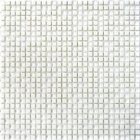 Mosaiikkilaatta Pukkila Cuba White Mix, himmeä, sileä, 10x10mm