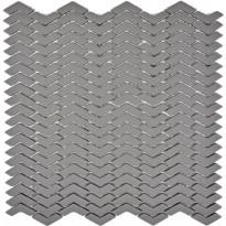 Mosaiikkilaatta Pukkila Cuba Greybraun Kalanruoto, himmeä, sileä, 45x10.5mm