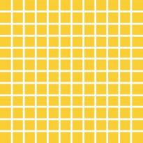 Mosaiikkilaatta Pukkila Pro Technic Color Yellow, kiiltävä, sileä, 23x23mm