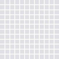 Mosaiikkilaatta Pukkila Pro Technic Color Light Grey, kiiltävä, sileä, 23x23mm