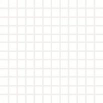 Mosaiikkilaatta Pukkila Pro Technic Color White, himmeä, sileä, 23x23mm
