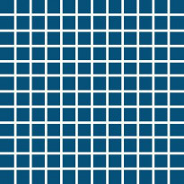 Mosaiikkilaatta Pukkila Pro Technic Color Aqua Blue, kiiltävä, sileä, 23x23mm