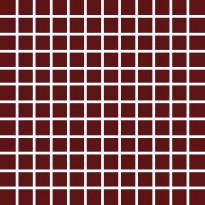 Mosaiikkilaatta Pukkila Pro Technic Color Burgundy, himmeä, sileä, 23x23mm