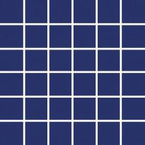 Mosaiikkilaatta Pukkila Pro Technic Color Cobalt Blue, kiiltävä, sileä, 47x47mm