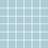 Mosaiikkilaatta Pukkila Pro Technic Color Pool Blue, kiiltävä, sileä, 47x47mm