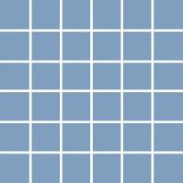 Mosaiikkilaatta Pukkila Pro Technic Color Cool Blue, kiiltävä, sileä, 47x47mm
