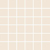 Mosaiikkilaatta Pukkila Pro Technic Color Light Sand, kiiltävä, sileä, 47x47mm