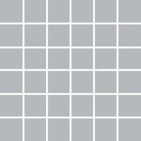 Mosaiikkilaatta Pukkila Pro Technic Color Dark Grey, kiiltävä, sileä, 47x47mm