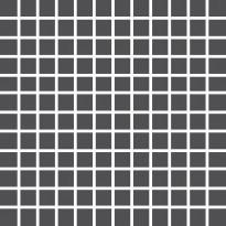 Mosaiikkilaatta Pukkila Pro Technic Color Anthracite, kiiltävä, sileä, 23x23mm