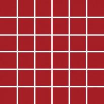 Mosaiikkilaatta Pukkila Pro Technic Color Red, kiiltävä, sileä, 47x47mm