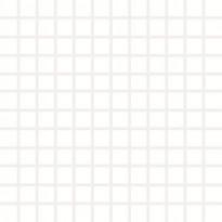 Mosaiikkilaatta Pukkila Pro Technic Color White, himmeä, karhea, 23x23mm