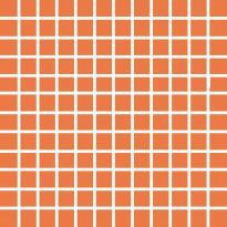 Mosaiikkilaatta Pukkila Pro Technic Color Orange, kiiltävä, sileä, 23x23mm