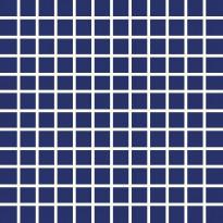 Mosaiikkilaatta Pukkila Pro Technic Color Cobalt Blue, himmeä, karhea, 23x23mm