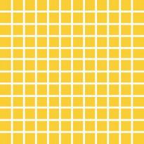 Mosaiikkilaatta Pukkila Pro Technic Color Yellow Matt, himmeä, sileä, 23x23mm