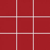Lattialaatta Pukkila Pro Technic Color Red Matt, himmeä, sileä, 97x97mm