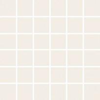 Mosaiikkilaatta Pukkila Pro Technic Color Ultra White, kiiltävä, sileä, 47x47mm