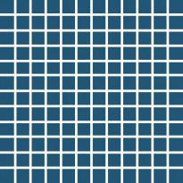 Mosaiikkilaatta Pukkila Pro Technic Color Ocean Blue, kiiltävä, sileä, 23x23mm