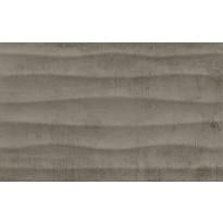 Kuviolaatta Pukkila Cosy Basalt Wave, himmeä, struktuuri, 397x247mm