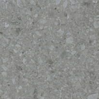 Lattialaatta Pukkila Ceppostone Dark Grey, sileä, 597x597mm