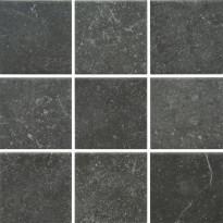 Lattialaatta Pukkila Piazen Coal, himmeä, sileä, 97x97mm