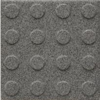 Lattialaatta Pukkila Natura Granite Grey, himmeä, struktuuri, pyörönasta, 96x96mm