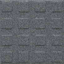 Lattialaatta Pukkila Natura Granite Blue, himmeä, struktuuri, neliönasta, 96x96mm