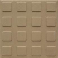 Lattialaatta Pukkila Natura Tumma Beige, himmeä, struktuuri, neliönasta, 96x96mm