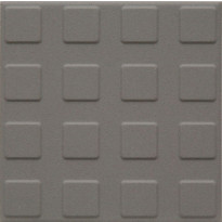 Lattialaatta Pukkila Natura Vaaleanharmaa, himmeä, struktuuri, neliönasta, 96x96mm