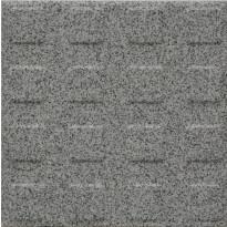 Lattialaatta Pukkila Natura Speckled White, himmeä, struktuuri, neliönasta, 96x96mm