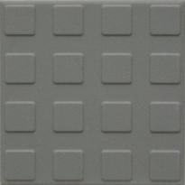 Lattialaatta Pukkila Natura Siniharmaa, himmeä, struktuuri, neliönasta, 96x96mm