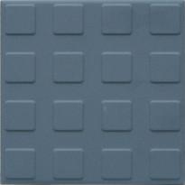 Lattialaatta Pukkila Natura Sininen, himmeä, struktuuri, neliönasta, 96x96mm