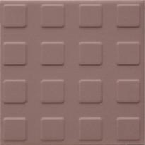 Lattialaatta Pukkila Natura Roosa, himmeä, struktuuri, neliönasta, 96x96mm