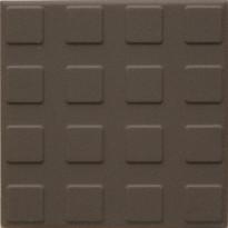Lattialaatta Pukkila Natura Ruskea, himmeä, struktuuri, neliönasta, 96x96mm