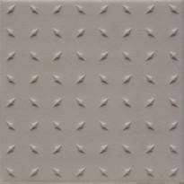 Lattialaatta Pukkila Natura Valkoinen, himmeä, struktuuri, dd, 96x96mm