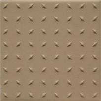 Lattialaatta Pukkila Natura Tumma Beige, himmeä, struktuuri, dd, 96x96mm