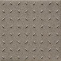 Lattialaatta Pukkila Natura Specled Brown, himmeä, struktuuri, dd, 96x96mm