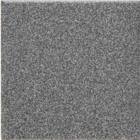 Lattialaatta Pukkila Natura Speckled Black-White, himmeä, sileä, 96x96mm, lasikuituverkossa