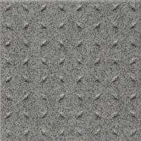 Lattialaatta Pukkila Natura Speckled White, himmeä, struktuuri, dd, 96x96mm
