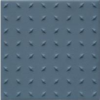 Lattialaatta Pukkila Natura Sininen, himmeä, struktuuri, dd, 96x96mm