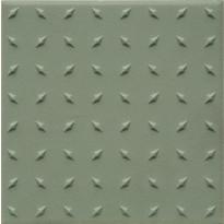 Lattialaatta Pukkila Natura Vihreä, himmeä, struktuuri, dd, 96x96mm