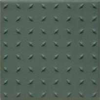 Lattialaatta Pukkila Natura Tummanvihreä, himmeä, struktuuri, dd, 96x96mm